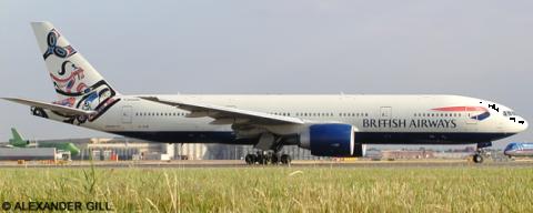 British Airways -Boeing 777-200 Decal