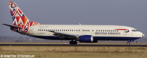 British Airways -Boeing 737-400 Decal