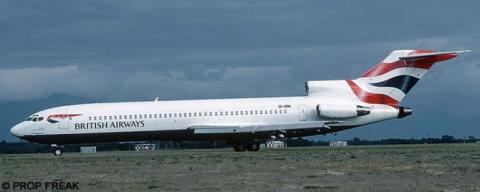 British Airways, Comair -Boeing 727-200 Decal