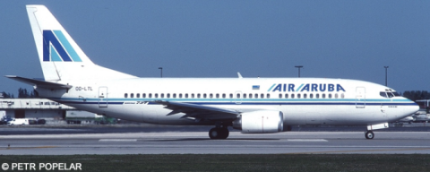 Air Aruba -Boeing 737-300 Decal