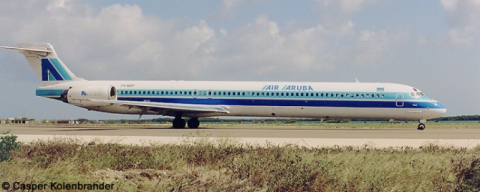 Air Aruba McDonnell Douglas MD-90 Decal