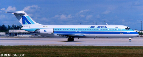 Air Aruba McDonnell Douglas DC-9 Decal