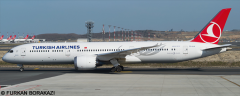 Turkish Airlines Boeing 787-9 Decal