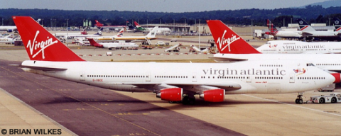 Virgin Atlantic Airways -Boeing 747-200 Decal