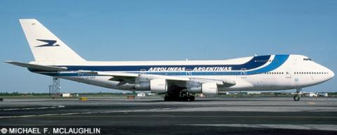Aerolineas Argentinas, Iberia -Boeing 747-200 Decal