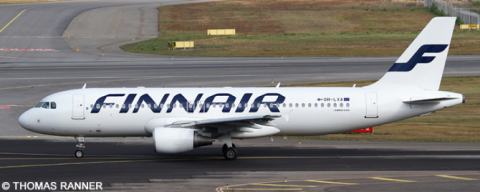 Finnair Airbus A320 Decal