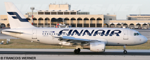 Finnair Airbus A319 Decal