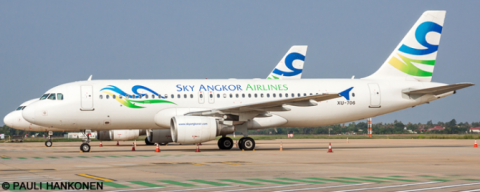 Sky Angkor Airlines Airbus A320 Decal