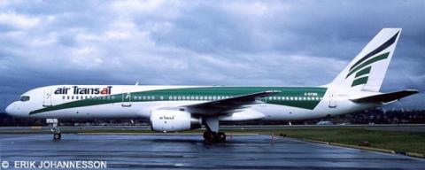 Air Transat, Transavia --Boeing 757-200 Decal