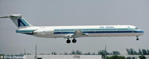 Air Aruba McDonnell Douglas MD-80 Decal