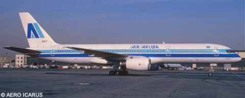 Air Aruba -Boeing 757-200 Decal