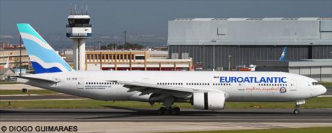 EuroAtlantic Airways Boeing 777-200 Decal