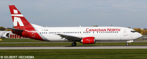 Canadian North, First Air Boeing 737-400 Decal