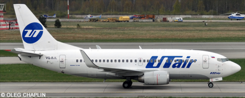 UTair Aviation Boeing 737-500 Decal