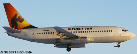 First Air --Boeing 737-200 Decal