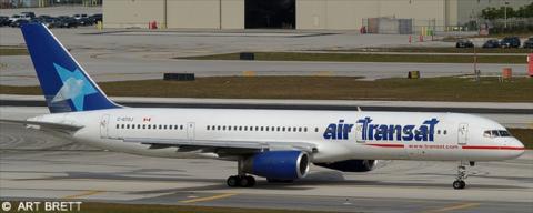 Air Transat Boeing 757-200 Decal