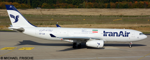 Iran Air Airbus A330-200 Decal