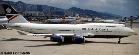 British Airways Boeing 747-400 Decal