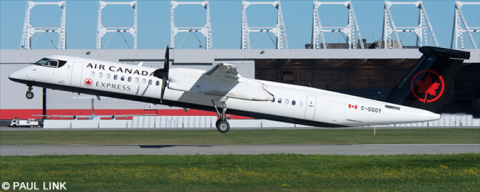 Air Canada Express, Air Canada Jazz Bombardier Dash 8-Q400 Decal