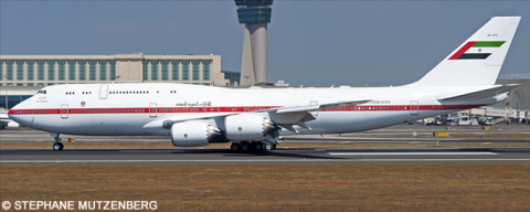 United Arab Emirates Boeing 747-8 Decal