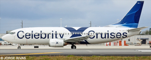 Celebrity Cruises, Canadian North Boeing 737-300 Decal