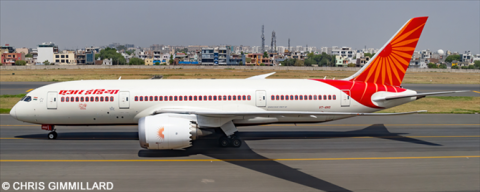 Air India Boeing 787-8 Decal