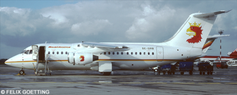 Malmo Aviation BAe 146-200 - Avro RJ-85 Decal