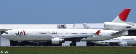 Japan Airlines (JAL) McDonnell Douglas MD-11 Decal