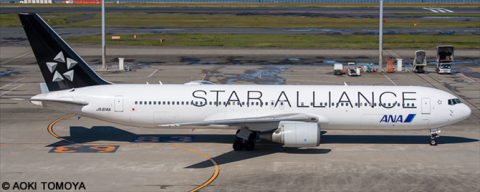 ANA All Nippon Airways, Star Alliance Various Airlines Boeing 767-300 Decal