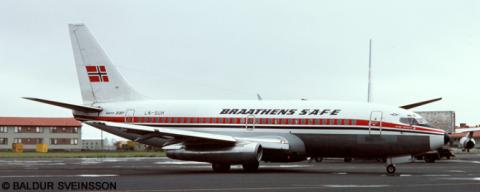 Braathens Safe -Boeing 737-200 Decal