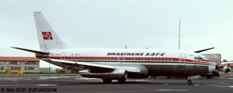 Braathens Safe -Boeing 737-200 Decal