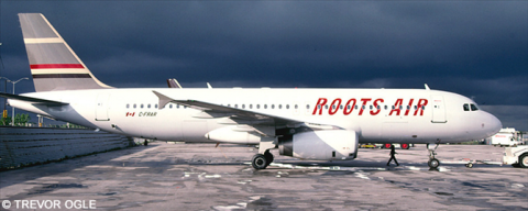 Roots Air, Skyservice Airbus A320 Decal
