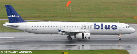 Airblue Airbus A321 Decal