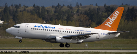 Air North --Boeing 737-200 Decal