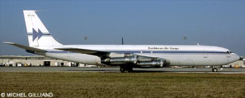 Caribbean Air Cargo Boeing 707-300 Decal