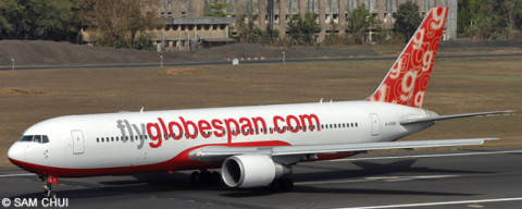 Flyglobespan -Boeing 767-300 Decal