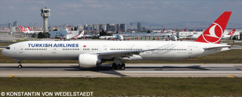 Turkish Airlines -Boeing 777-300 Decal