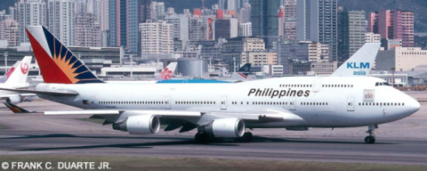 Philippines Airlines PAL -Boeing 747-400 Decal