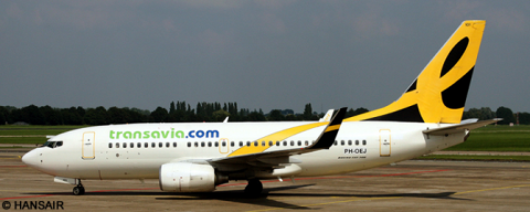 Transavia, Enerjet --Boeing 737-700 Decal