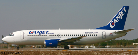 Canjet -Boeing 737-300 Decal