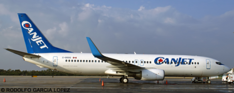 Canjet --Boeing 737-800 Decal