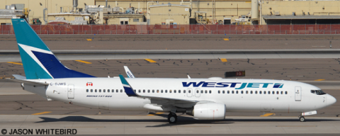 Westjet --Boeing 737-800 Decal