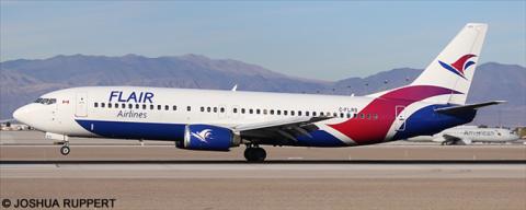 Flair Air -Boeing 737-400 Decal