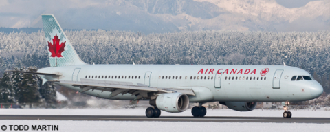 Air Canada Airbus A321 Decal
