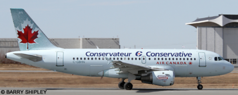 Air Canada Airbus A319 Decal