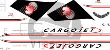 Cargojet --Boeing 757-200 Decal