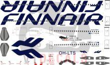 Finnair -Airbus A330-300 Decal
