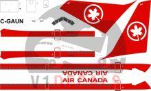 Air Canada -Boeing 767-200 Decal