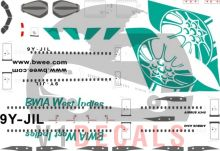 BWIA (British West Indies Airways) -Airbus A340-300 Decal
