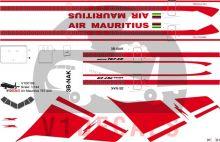 Air Mauritius -Boeing 767-200 Decal